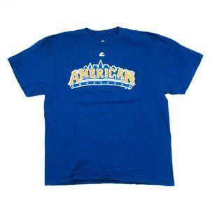Majestic Men's Shirt MLB American League Trout XL